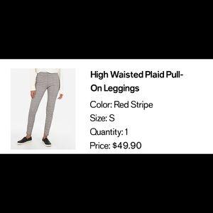 High waisted Pull On Leggings